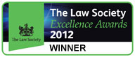 The Law Society - Excellence Awards Logo