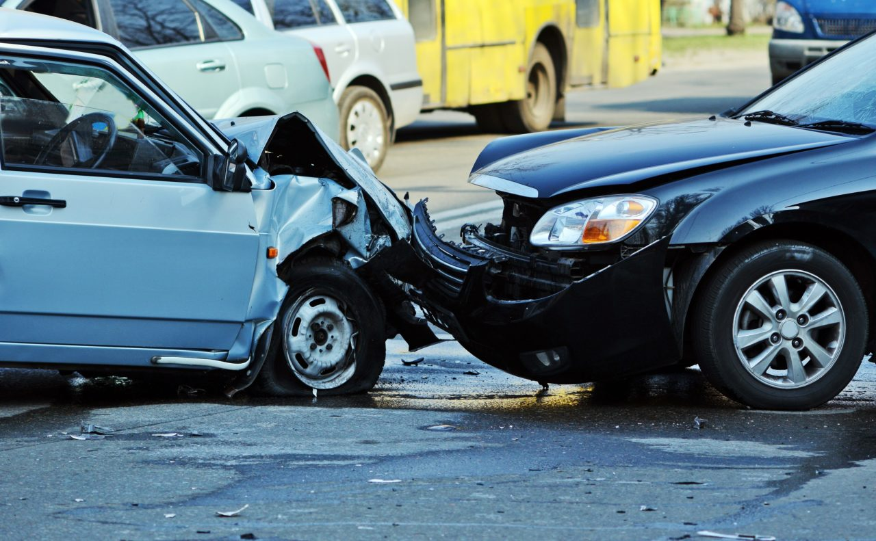 Picture Of Light At Car Crash