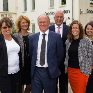 Coodes Solicitors conveyancing team