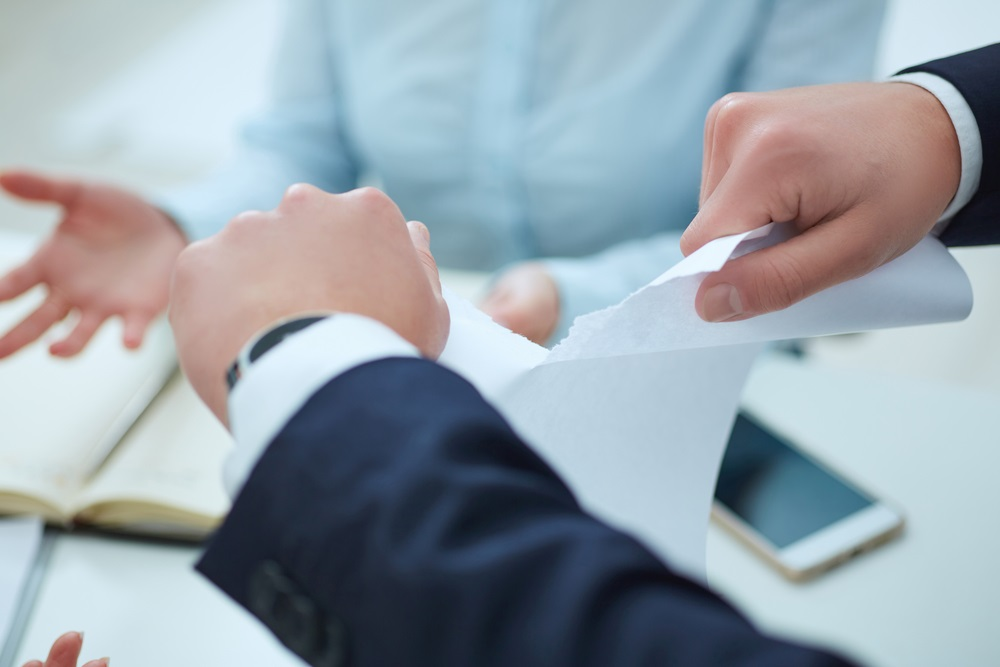 Terminating a suppliers contract