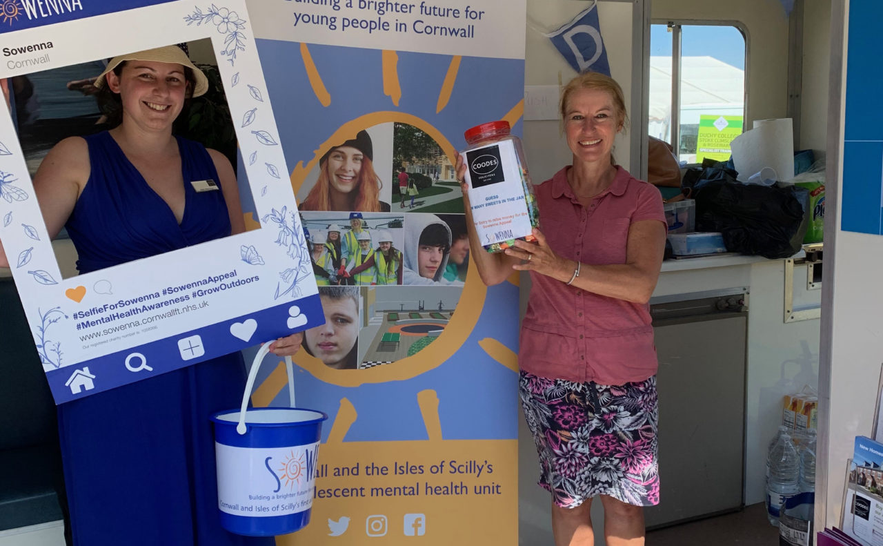 Coodes staff choose Sowenna Appeal as charity of the year
