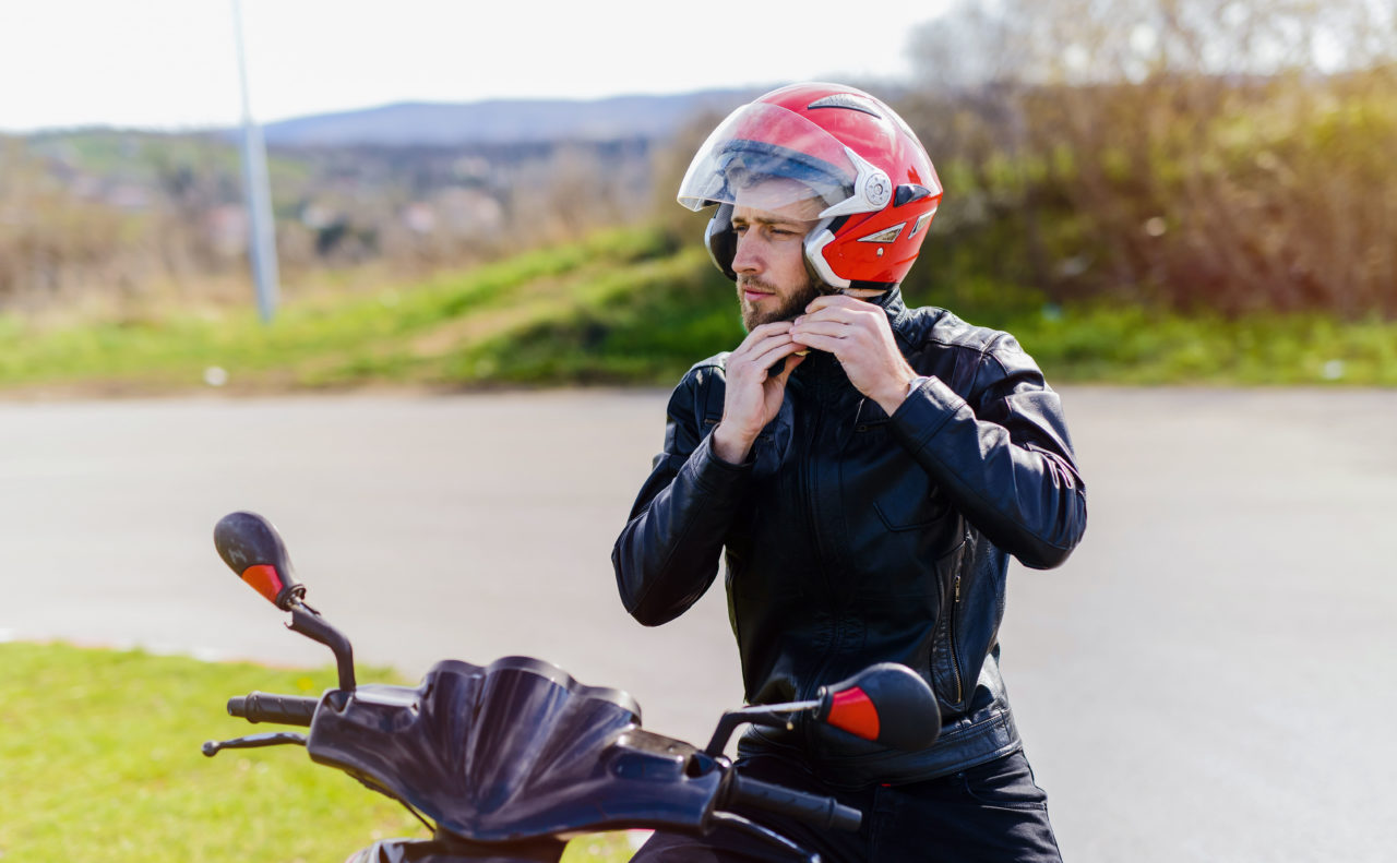 The importance of wearing protective clothing on motorbikes