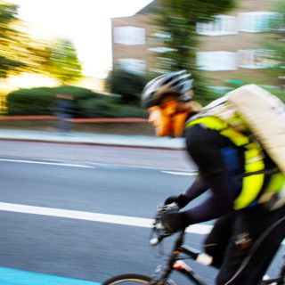 Keeping cyclists safe on roads