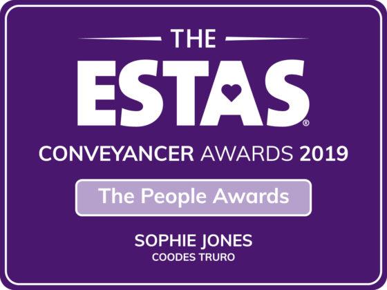 Sophie Jones ESTAS Awards 2019